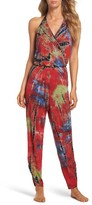 Green Dragon Women's Aviat-Or-Bust Racquel Cover-Up Jumpsuit