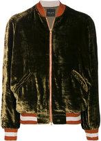 Roberto Collina velvet bomber jacket