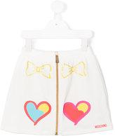 Moschino Kids zipped skirt
