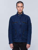 Stone Island Water Repellent Denim Jacket