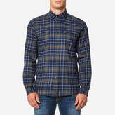 Barbour Keel Check Shirt Navy