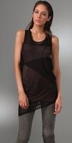 BCBGMAXAZRIA Sleeveless Layer Tunic