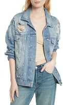 Free People Women's Sunday Funday Denim Trucker Jacket