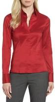 BOSS Women's 'Bashina' Stretch Poplin Shirt