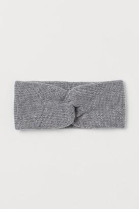 H&M Knit Headband - Gray