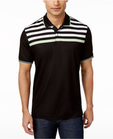 Club Room Men's Striped-Yoke Polo, Only at Macy's