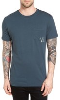 RVCA Men's Letterpress Graphic Pocket T-Shirt
