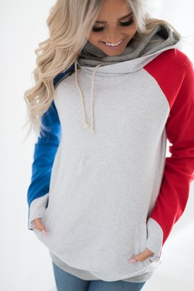 Ampersand Avenue DoubleHood Sweatshirt - Lady Liberty