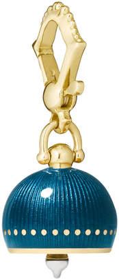 Paul Morelli #3 Teal Enamel Meditation Bell Charm