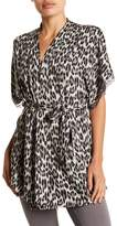 Joe Fresh Printed Lace Trim Robe