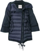 Moncler off-centre zip padded jacket