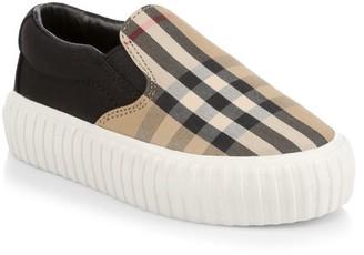 Burberry Baby's & Little Kid's Erwin Slip-On Sneakers