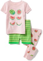 Old Navy Watermelon-Graphic 3-Piece Sleep Set for Toddler & Baby