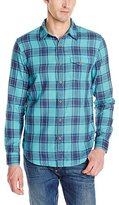 Lucky Brand Men's Double Weave One-Pocket Shirt