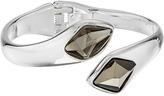 Robert Lee Morris Grey & Silver Stone Bypass Bracelet
