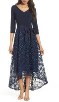 Ellen Tracy Women's High/low Gown