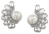 Carolee Grand Entrance Faux-Pearl Clip-On Earrings