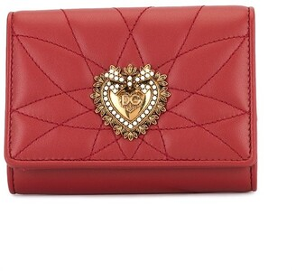 Dolce & Gabbana Sacred Heart flap wallet