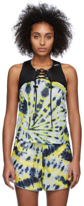Nike Black Off-White Edition Cross Bib 1 Tank Top