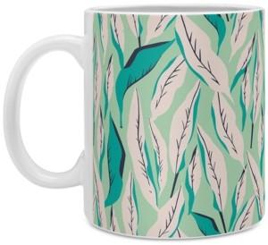 Deny Designs Holli Zollinger Ungle Palm Troopica Coffee Mug