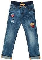 Desigual Boy's Denim_Parches Jeans,(Manufacturer Size: 13/14)