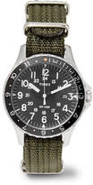 Timex Navi Ocean Stainless Steel And Webbing Watch