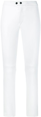 Isabel Marant Skinny Cropped Leather Trousers