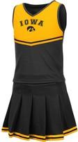 Colosseum Girls Youth Black Iowa Hawkeyes Pinky Cheer Dress