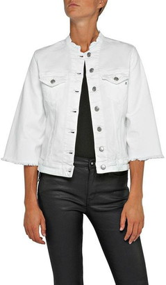 Replay Denim Jacket With Bell Sleeves