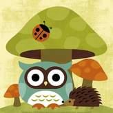 Art.com Owl and Hedgehog Print