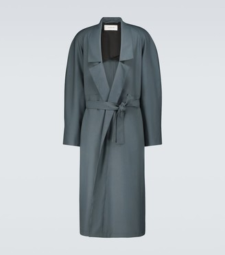 Lemaire Wool-blend robe coat