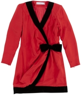 Givenchy Red Silk Dress