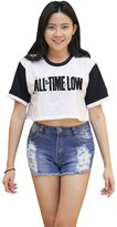 Me Women's All time low Crop T-shirt