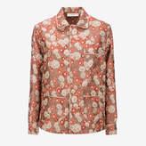 Bally Women's jacquard polyester shirt in multi-peach