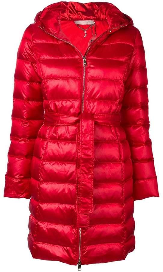 Liu Jo belted puffer coat