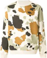 MHI camouflage-print sweatshirt