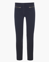 Veronica Beard Denim Skinny Cropped Pant