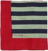 Lisa Corti Nizam Mustard Striped Cotton Tablecloth