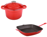 Berghoff Neo Dutch Oven & Grill Pan Set (3 PC)