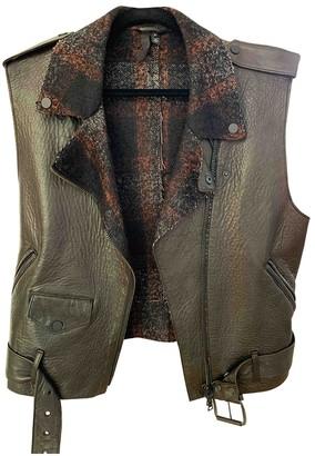 Edun Black Leather Jackets