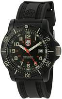 Luminox Men's 'Ops Carbon' Swiss Quartz Resin and Rubber Watch, Color:Black (Model: 8813.LM)