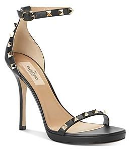 Valentino Women's Rockstud Studded High-Heel Sandals