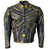 Coolhides Men's Xmen Motorcycle Leather Jacket X-Large