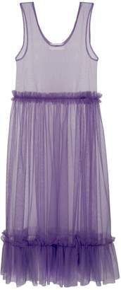 Zoey In.No Aubergine Tulle Dress