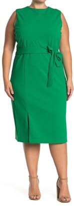 Alexia Admor Kinsley Waist Tie Sleeveless Dress