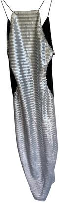 Nasty Gal Silver Glitter Dress for Women