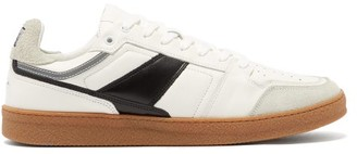 Ami Gum Sole Suede & Leather Trainers - White