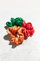 Urban Outfitters Satin Scrunchie Set
