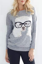 Molly Bracken Dog/glasses Sweater
