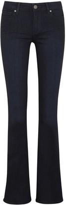 Paige Manhattan Transcend Blue Bootcut Jeans